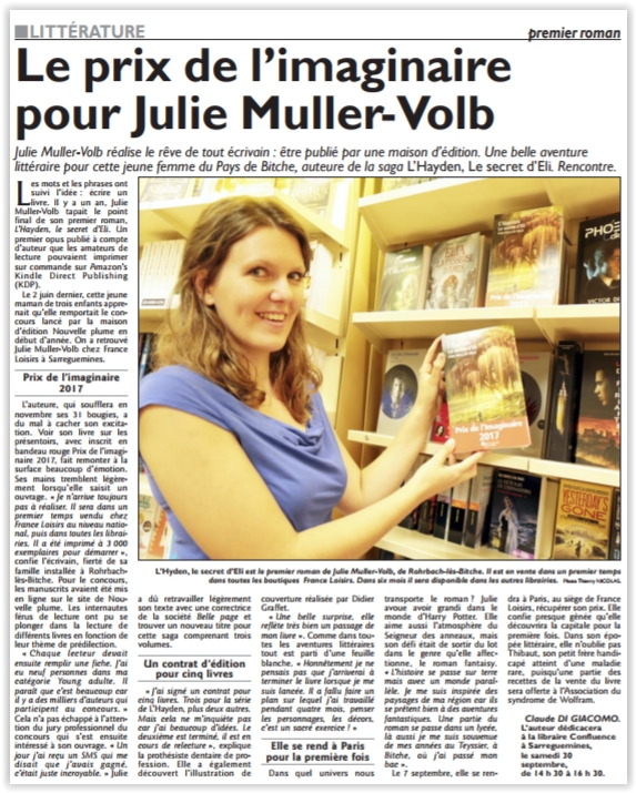 Interview Julie Volb Muller